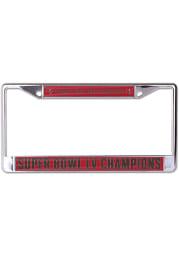 Tampa Bay Buccaneers Super Bowl LV Champions Primary Logo License Frame