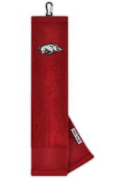 Arkansas Razorbacks Embroidered Microfiber Golf Towel