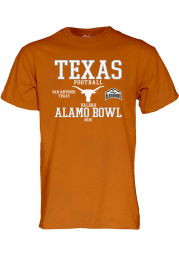 Texas Longhorns Burnt Orange Alamo Bowl Bound 2020 Short Sleeve T Shirt
