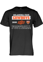 Oklahoma State Cowboys Black Cheez It Bowl Bound 2020 Short Sleeve T Shirt