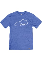 Rally Kentucky Blue Yall Short Sleeve Fashion T Shirt