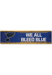 St Louis Blues 1.5x6 Wood Magnet