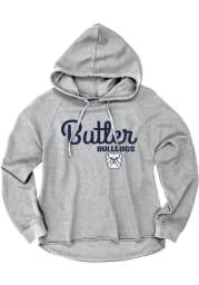 Butler Bulldogs Womens Grey Bampot Hooded Sweatshirt