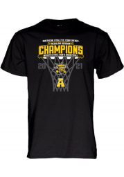 Wichita State Shockers Black AAC Conference Champions Short Sleeve T Shirt