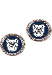 Butler Bulldogs Hammered Post Womens Earrings