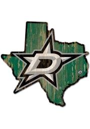 Dallas Stars state shape Sign