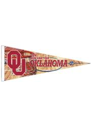 Oklahoma Sooners Premium Pennant