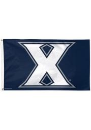 Xavier Musketeers 3x5 Grommet Blue Silk Screen Grommet Flag