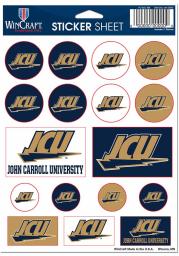 John Carroll Blue Streaks Sheet of Team Logo Stickers