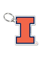 Illinois Fighting Illini Premium Acrylic Keychain