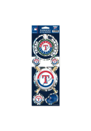 Texas Rangers Prismatic Stickers