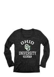 Ohio Juniors Black Danville Long Sleeve Scoop Neck