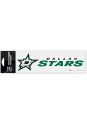 Dallas Stars 3x10 Perfect Cut Auto Decal - Green