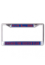 Chicago Fire Team Name Inlaid License Frame