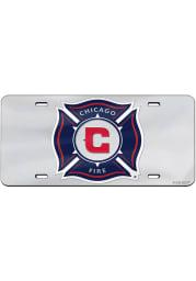 Chicago Fire Team Logo Car Accessory License Plate