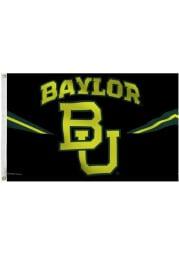 Baylor Bears Neon Jersey Deluxe Grommet Black Silk Screen Grommet Flag