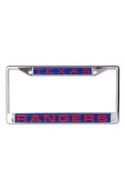Texas Rangers Team Name Inlaid License Frame