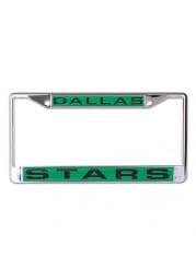 Dallas Stars Team Name Inlaid License Frame