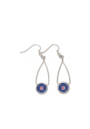 Chicago Fire French Loop Womens Earrings