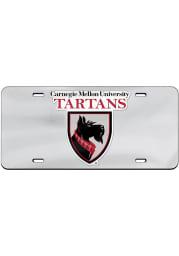 Carnegie Mellon Tartans Team Logo Inlaid Car Accessory License Plate