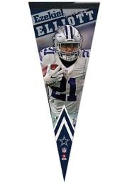 Dallas Cowboys Ezekiel Elliott 12X30 Premium Pennant Pennant