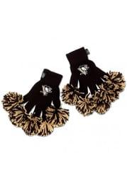 Pittsburgh Penguins Team Logo Womens Gloves