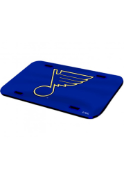 St Louis Blues Crystal Mirror Car Accessory License Plate