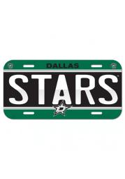 Dallas Stars Team Name Car Accessory License Plate