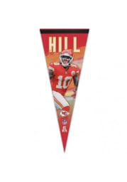 Kansas City Chiefs Tyreek Hill 12x30 Pennant