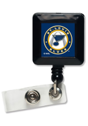 St Louis Blues One-Sided Retractable Badge Holder