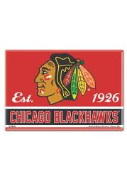 Chicago Blackhawks 2.5x3.5 Magnet