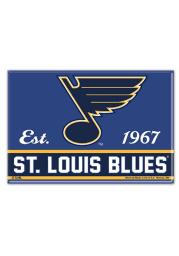 St Louis Blues 2.5x3.5 Magnet