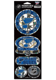 St Louis Blues 4x11 Prismatic Stickers