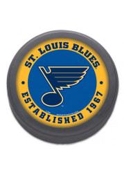 St Louis Blues Logo Hockey Puck