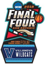 Villanova Wildcats Souvenir 2018 Final Four Collector Pin