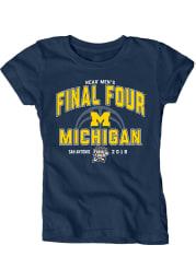 Michigan Wolverines Youth Navy Blue Alumni Long Sleeve T-Shirt