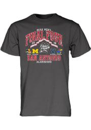 Michigan Wolverines Charcoal Tex Mex Short Sleeve T Shirt