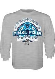Villanova Wildcats Youth Grey Jerseys Long Sleeve T-Shirt