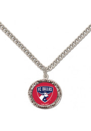 FC Dallas Hammered Womens Necklace