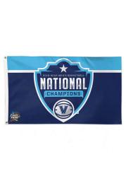 Villanova Wildcats 2018 National Champion Blue Silk Screen Grommet Flag
