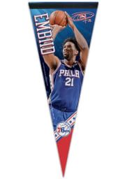 Philadelphia 76ers Joel Embiid 12x30 inch Pennant