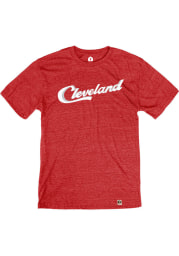 Cleveland Red Sign Short Sleeve T Shirt