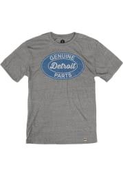 Detroit Grey Genuine Parts Short Sleeve T Shirt