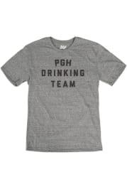 Pittsburgh Grey Drinking Team Short Sleeve T Shirt