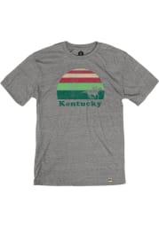 Kentucky Grey Sunset Racing Short Sleeve T Shirt