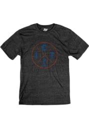 Wichita Black Circle Icons Short Sleeve T Shirt