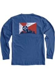 Wichita Royal Skyline Long Sleeve T Shirt