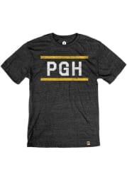 Pittsburgh Black Block Bars Short Sleeve T Shirt