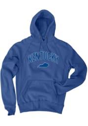 Kentucky Royal State Long Sleeve Fleece Hood Sweatshirt