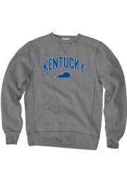 Kentucky Mens Black Wordmark Long Sleeve Crew Sweatshirt